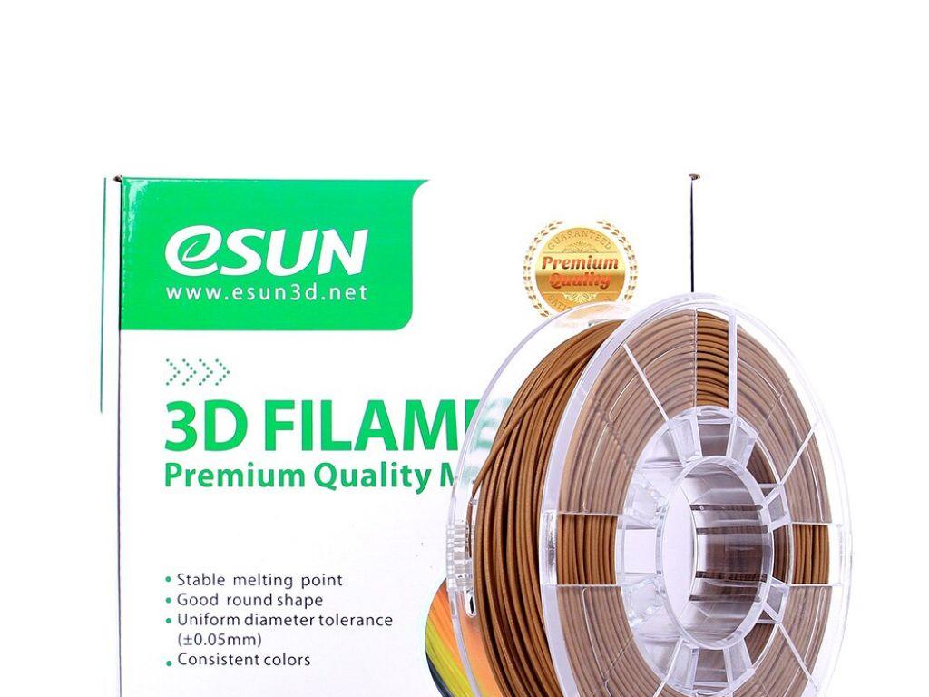 FILAMENTO P/IMPRESORA 3D eBAMBOO DE 1.75 MM / 500Gr NATURAL