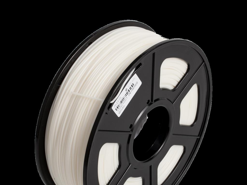 FILAMENTO P/IMPRESORA 3D ABS+ DE 1.75 MM / 1KG COLD WHITE