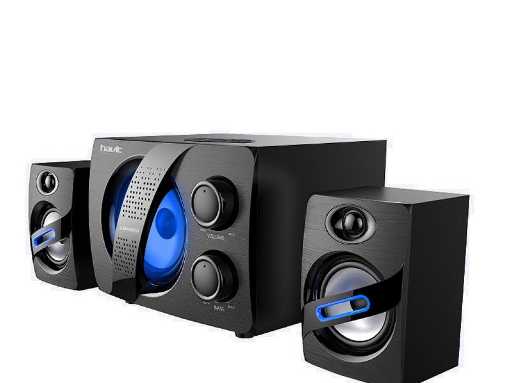 EQUIPO MUSICAL HAVIT2.1 BTS TF/FM/USB/MP3