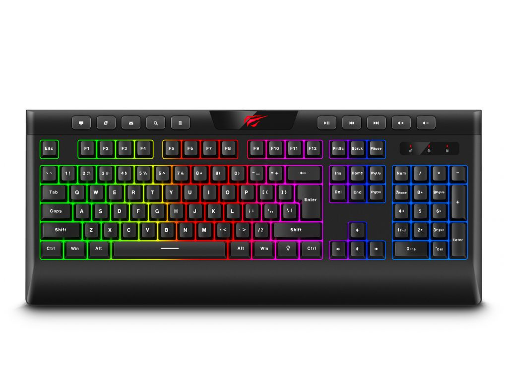 TECLADO HAVIT GAMER RETROILUMINADO C/CABLE