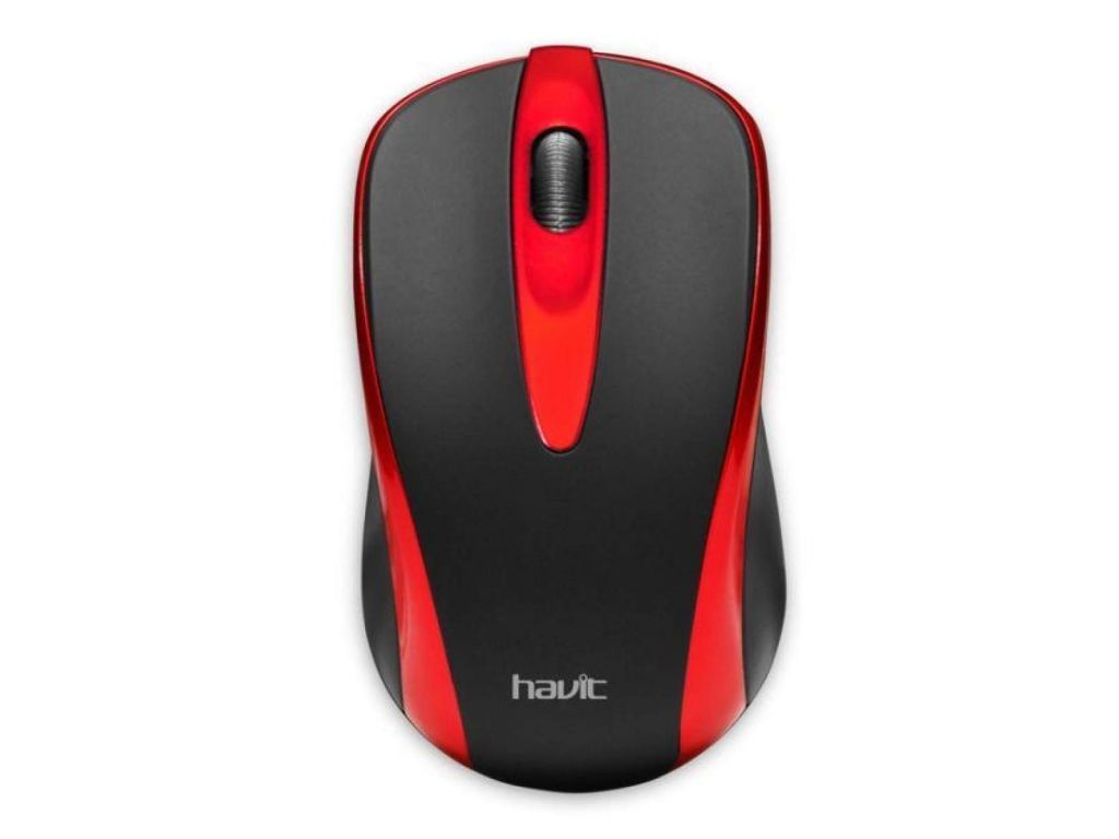 MOUSE HAVIT RED 1000 DPI CABLE 1.35M